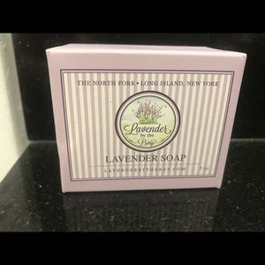 Organic handmade lavender soap